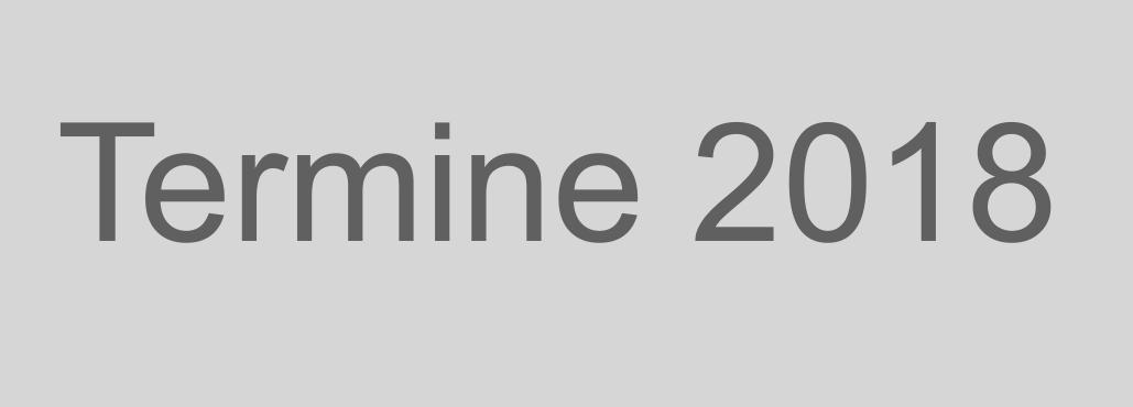 Blog Termine 2018